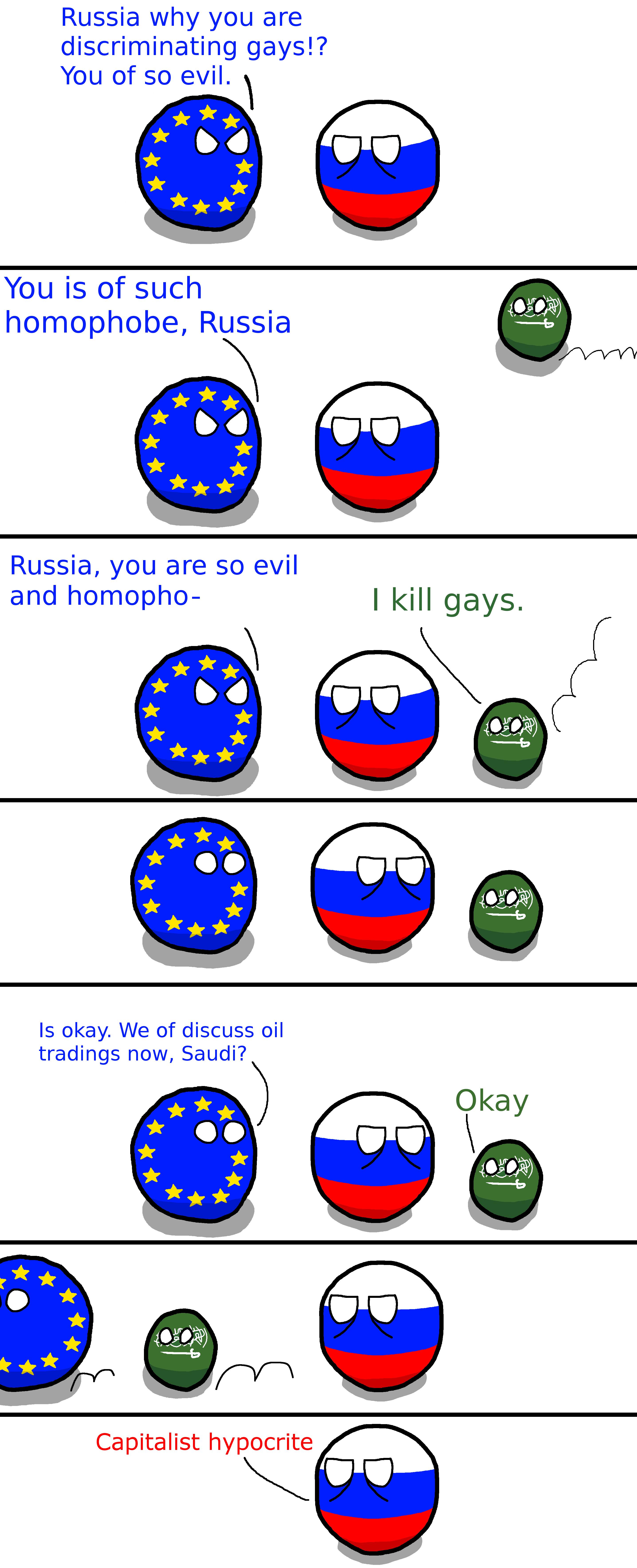 Capitalist Hypocrites