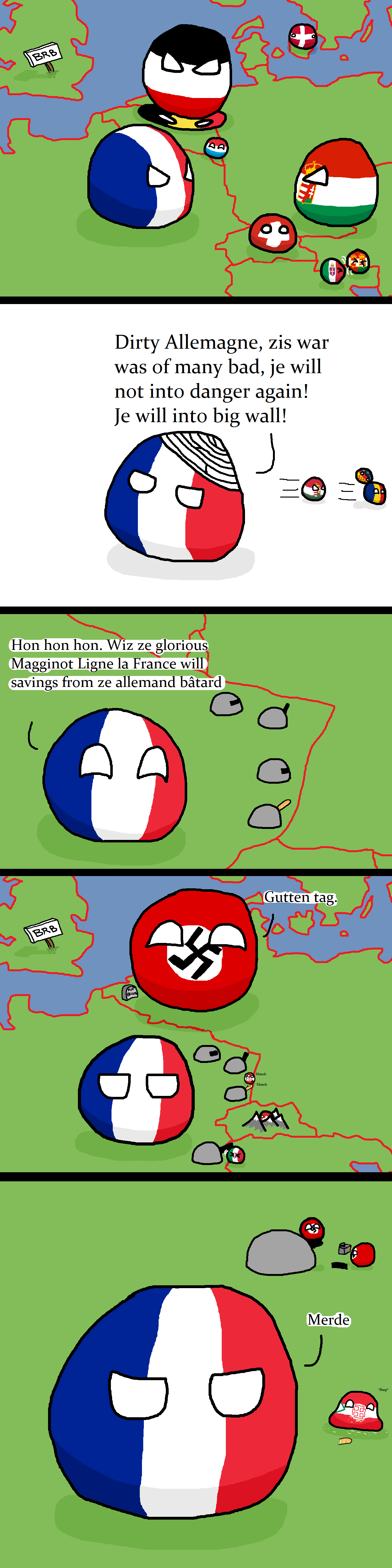 France Cannot into Defense
