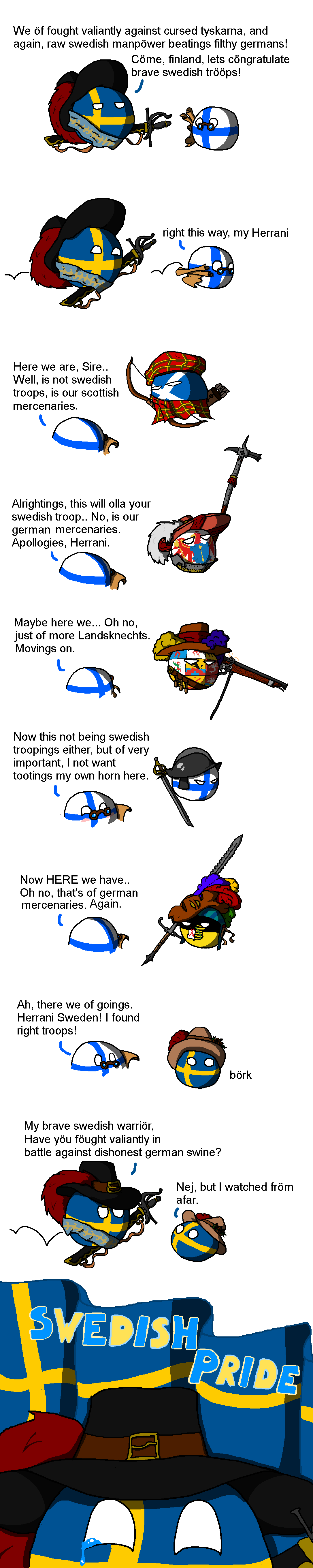 country-balls-glorious-swedish-army