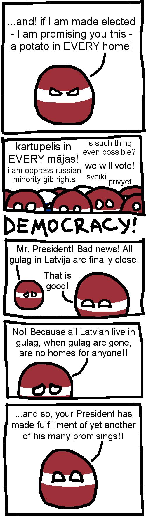 Latvian Politics