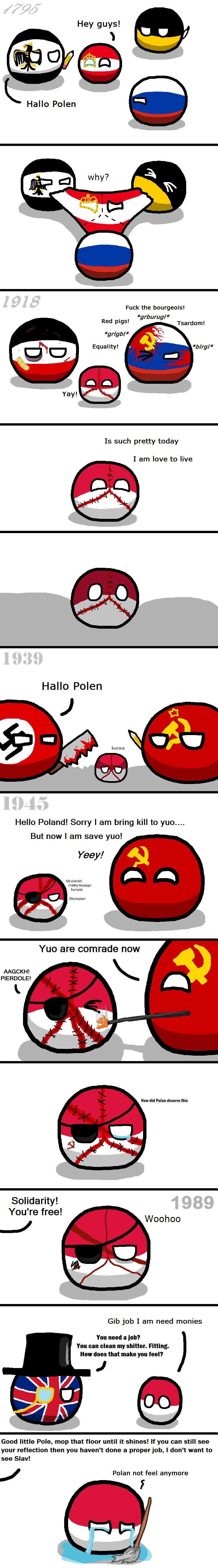 country-balls-poland-has-it-rough