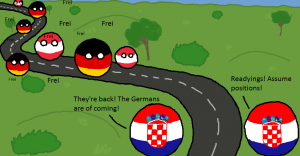 The Germans are back