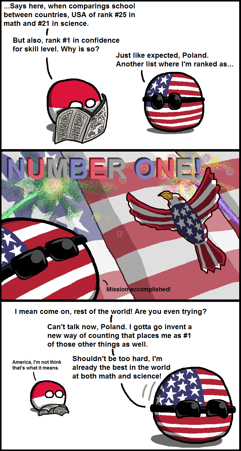 USA is Number One