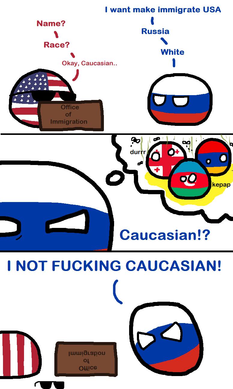 Who You Calling Caucasian??