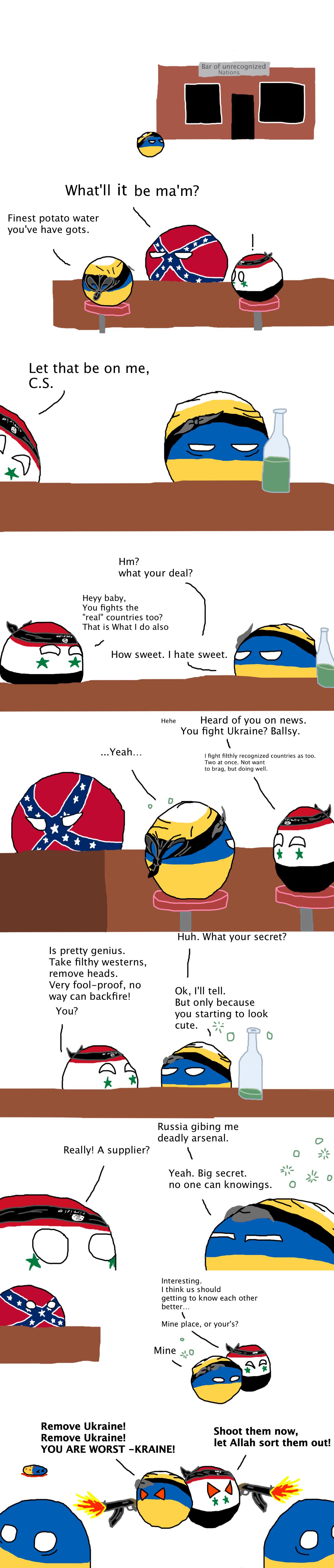 When Rebels Collide