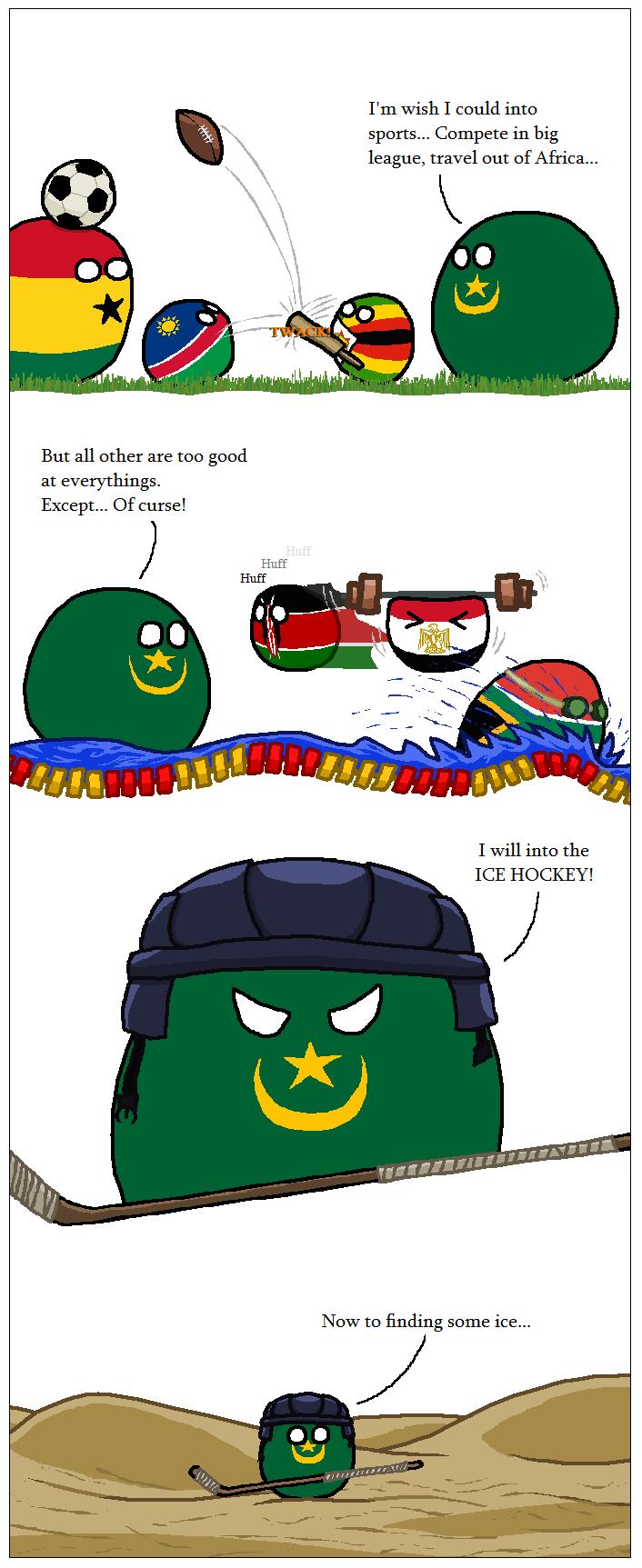 Mauritania's Ambition