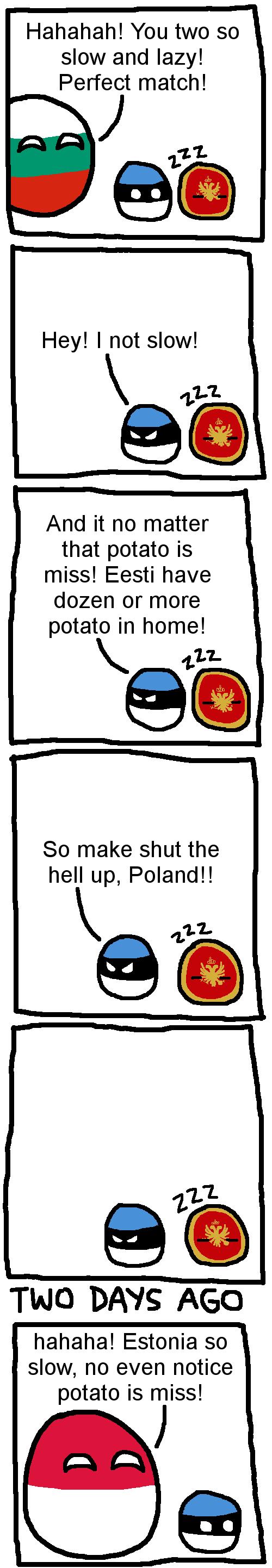 Montenegro is lazy