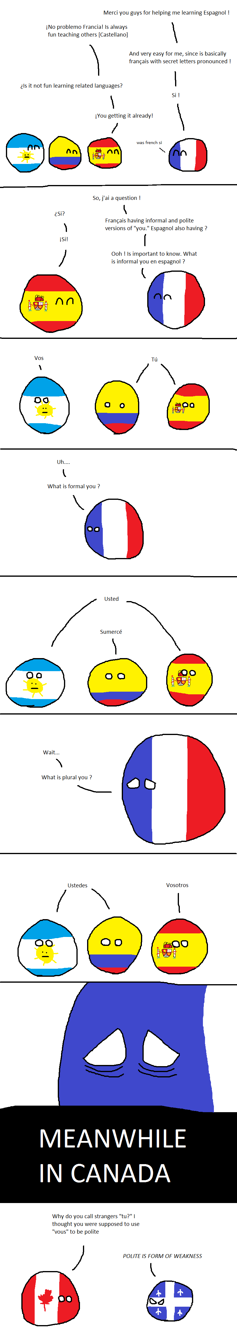 France learns Spanish