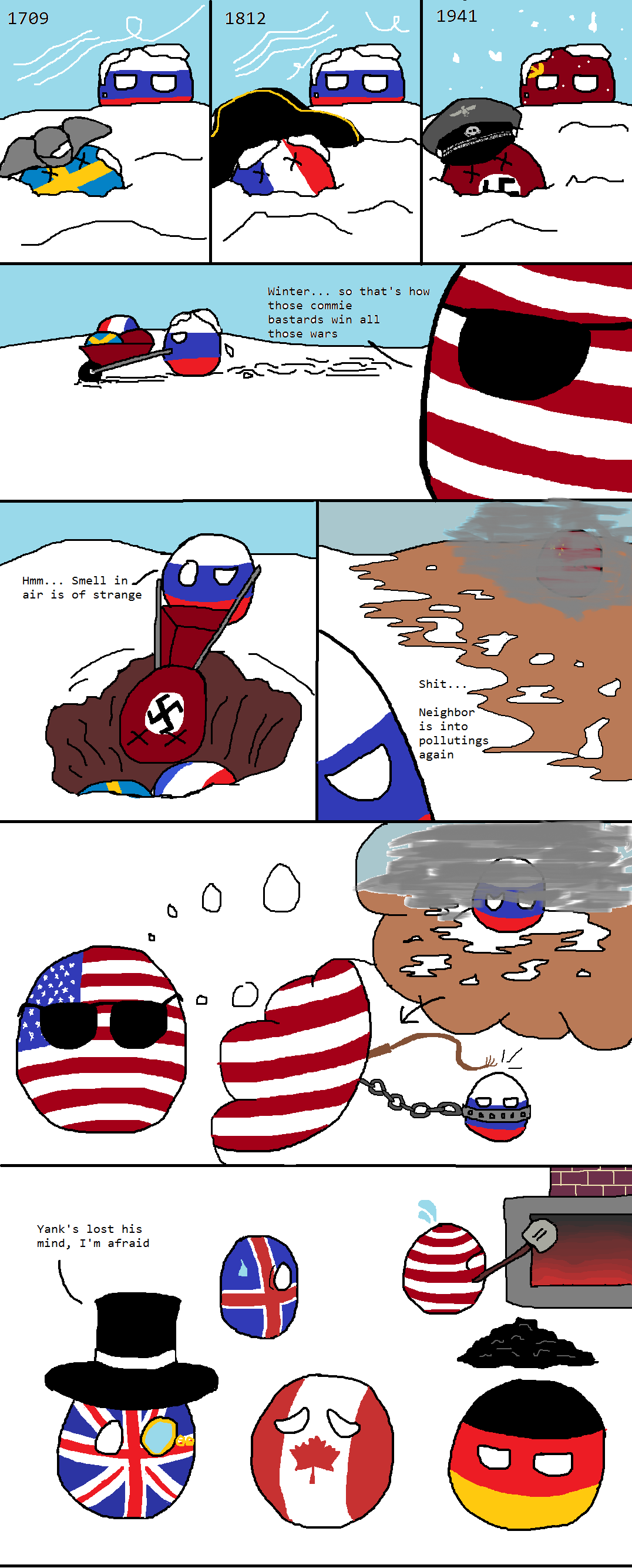 America hatches a plot