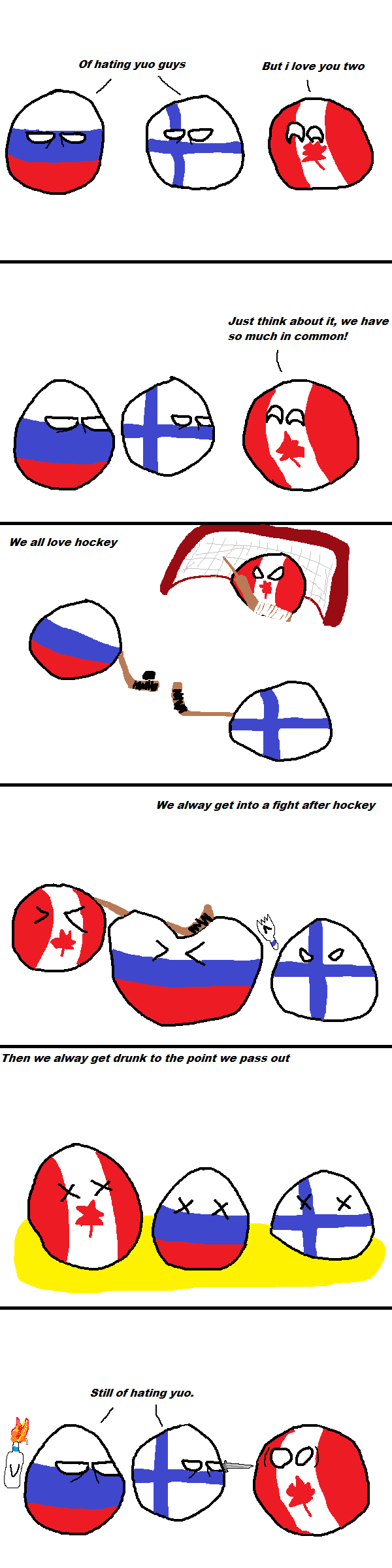 Canada can't find true friend
