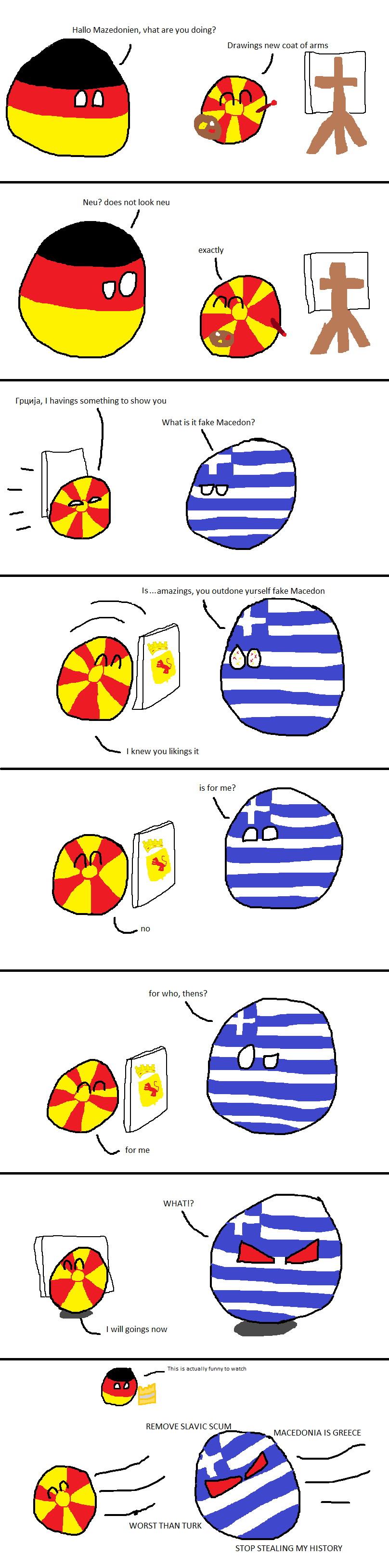 Fake Macedon's New Coat of Arms