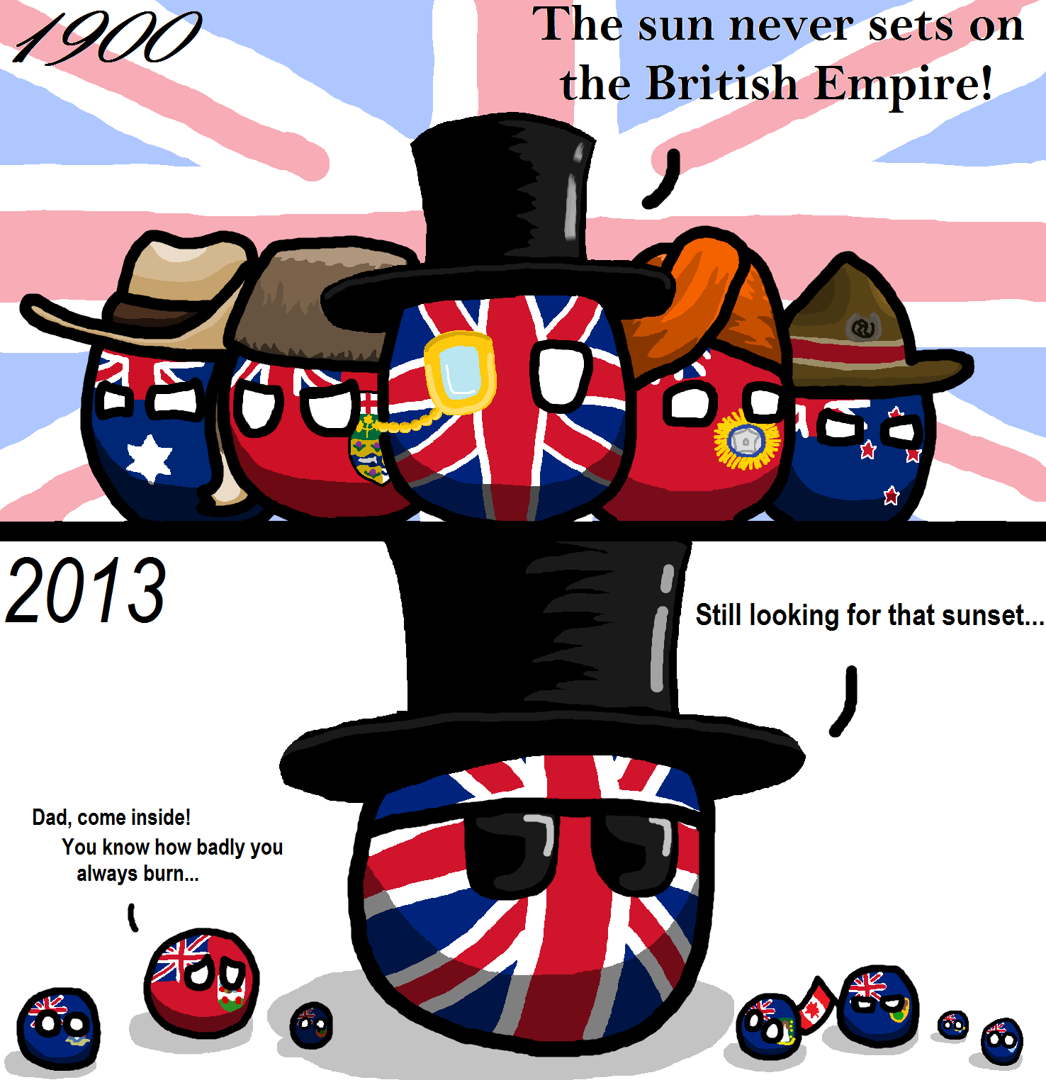 The Eternal Sunshine of the British Empire