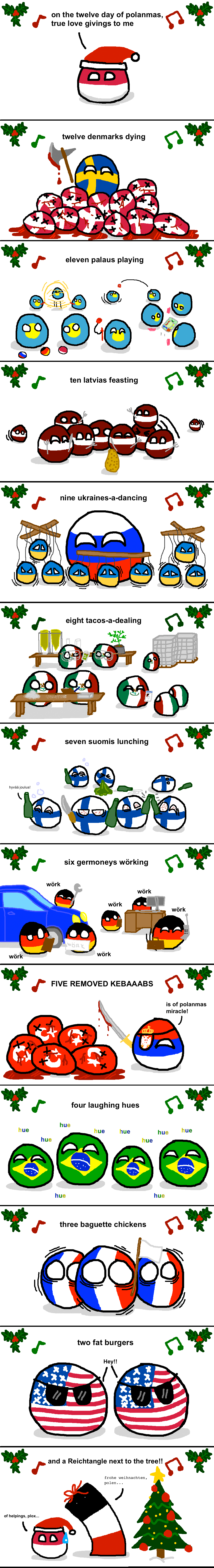 Twelve days of Polanmas