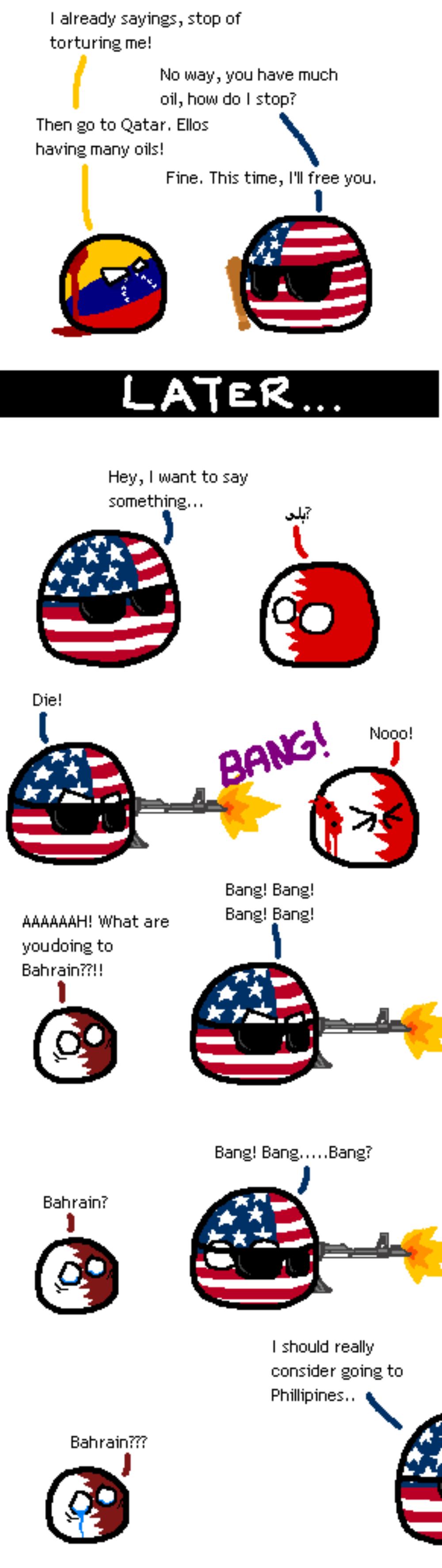 Why America? Why?