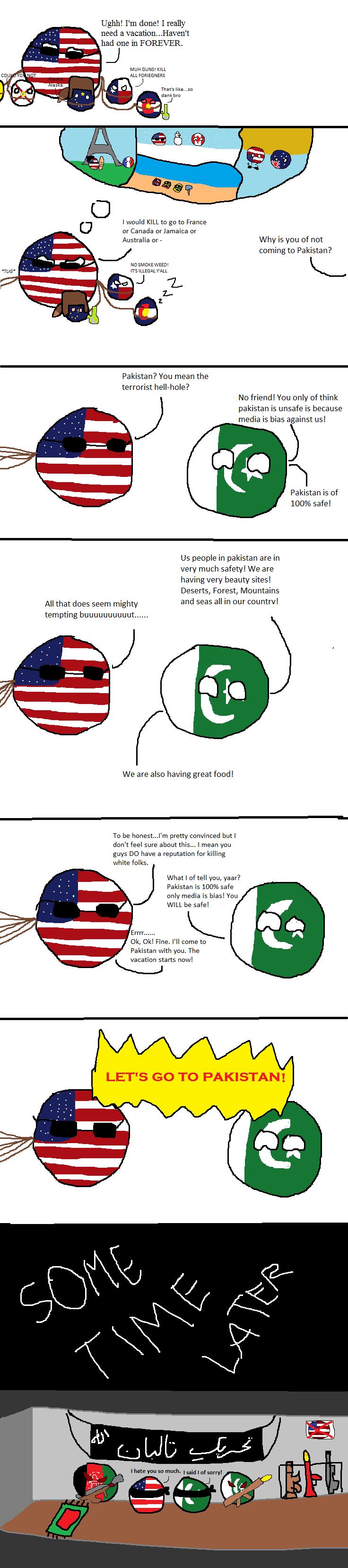 America's Great Pakistani Vacation!