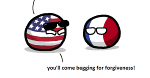 American retaliation