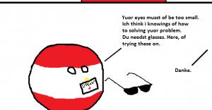 Augenproblem.