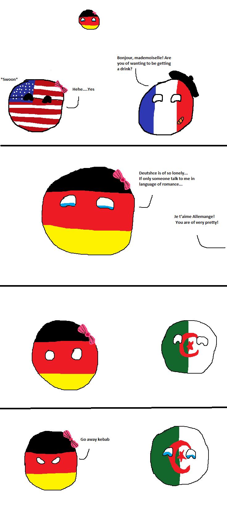 Deutsch is of lonely