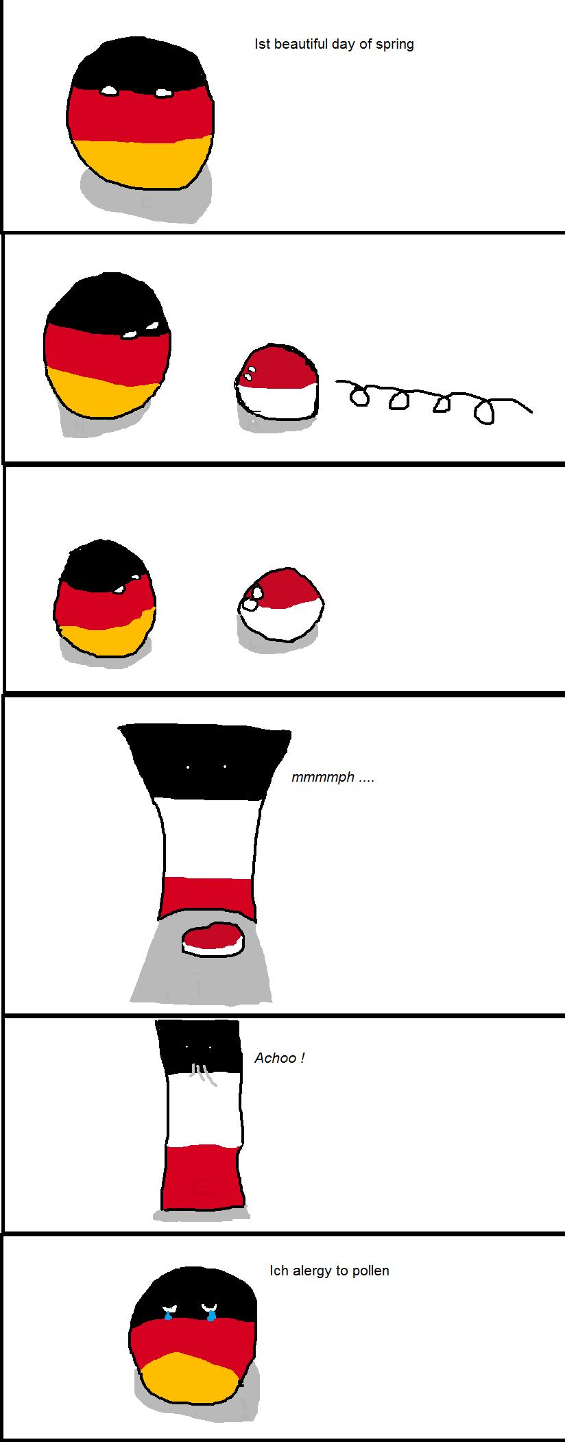 German spring.
