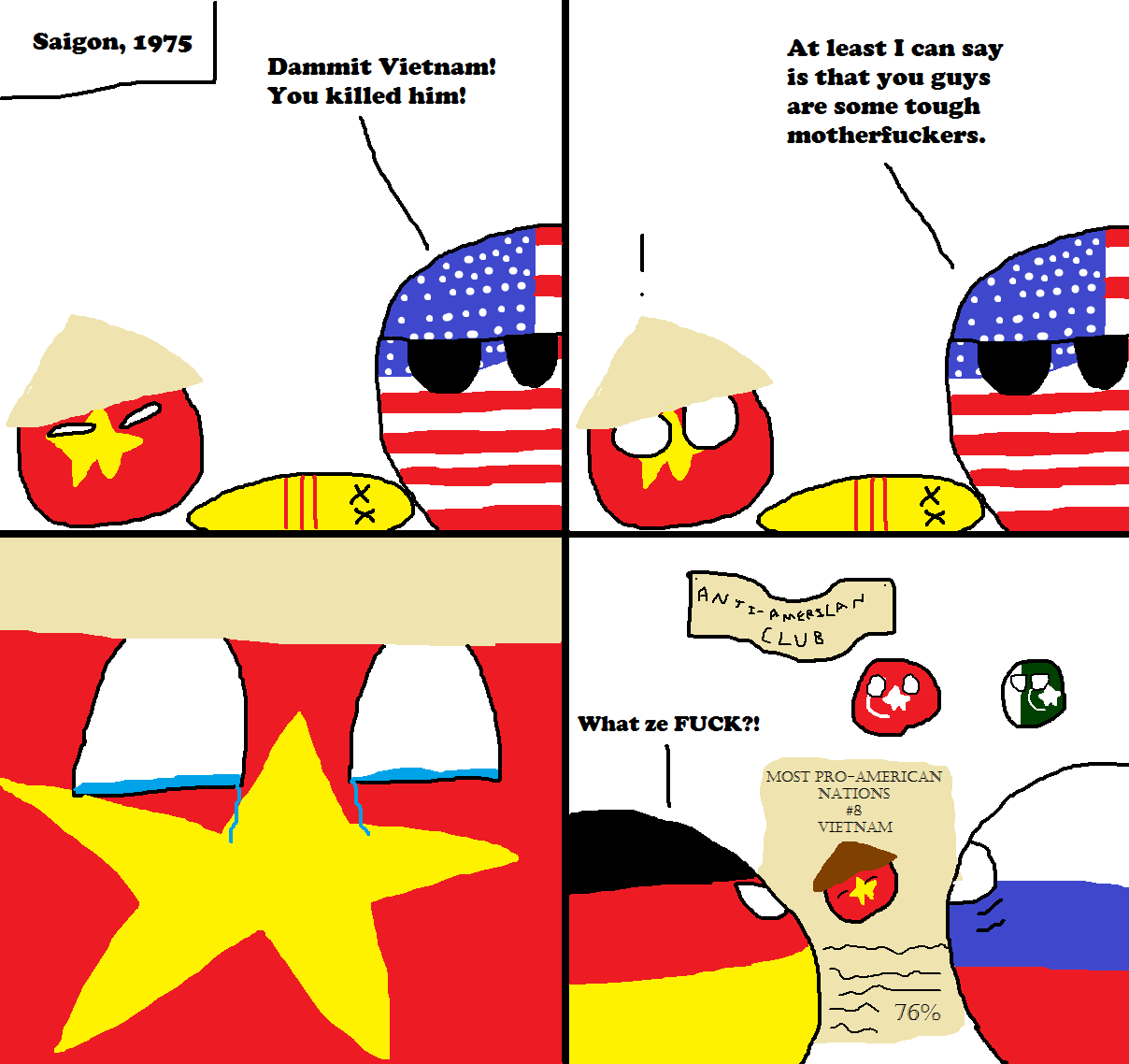Nice fight, Vietnam