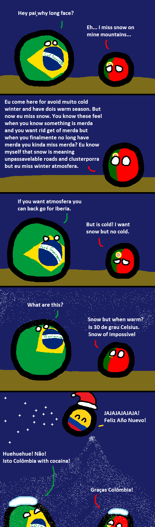 Portugal visits his child for vacations