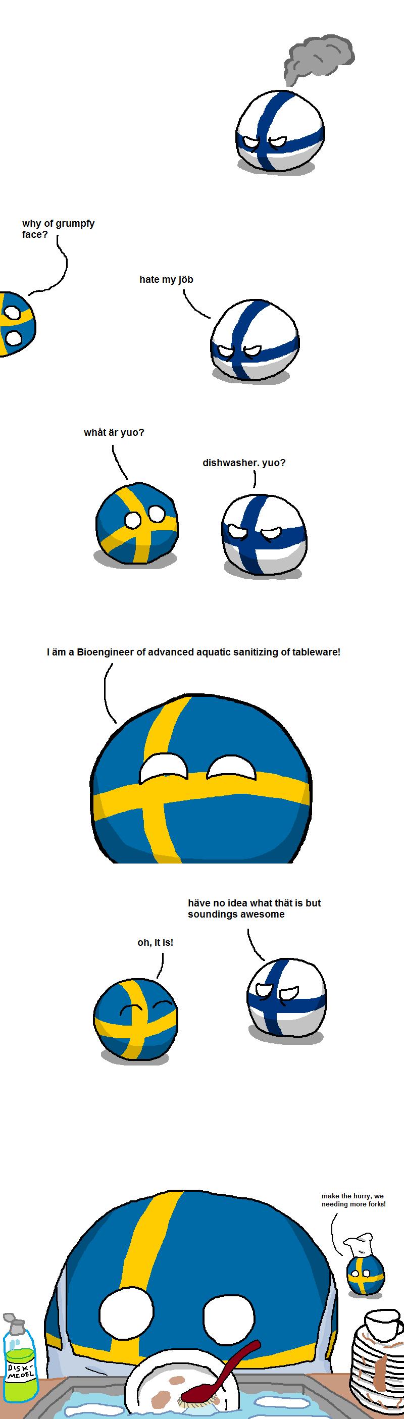 Sweden doing what Sweden does