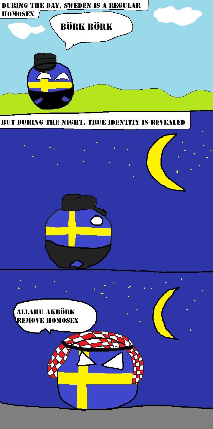 Sweden's secret identity