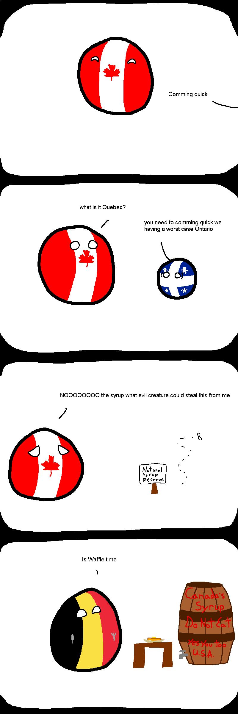 syrup shenanigans
