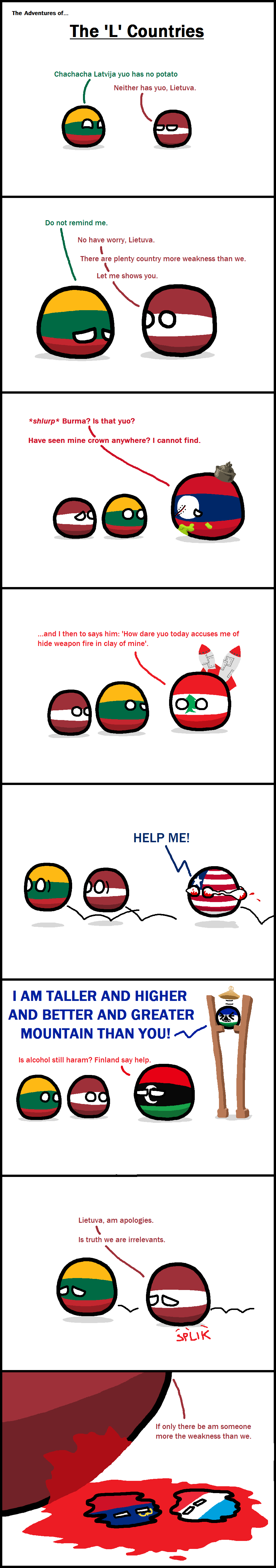 The Adventures of the 'L' Countries
