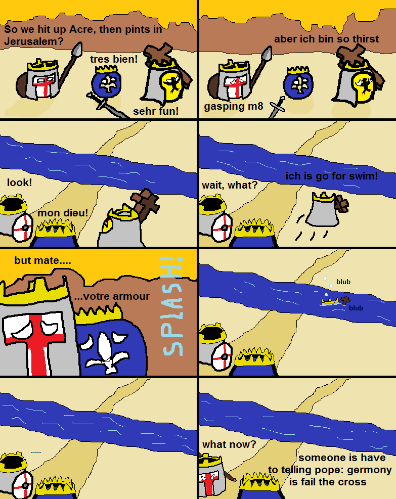 The Third Crusade: This actually happened