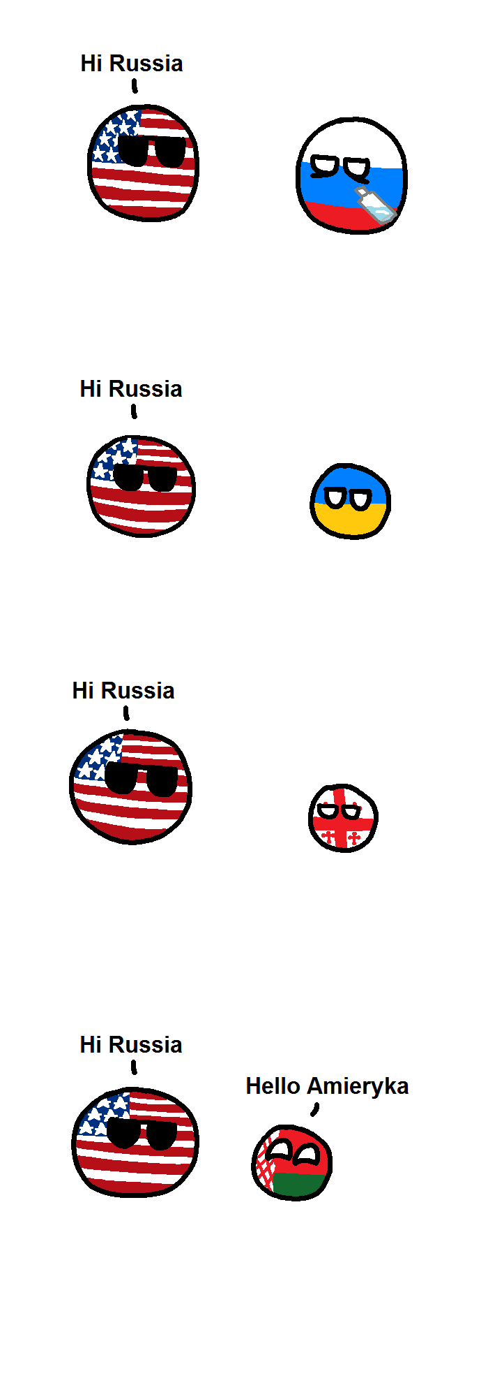 A comic about Slavic countries
