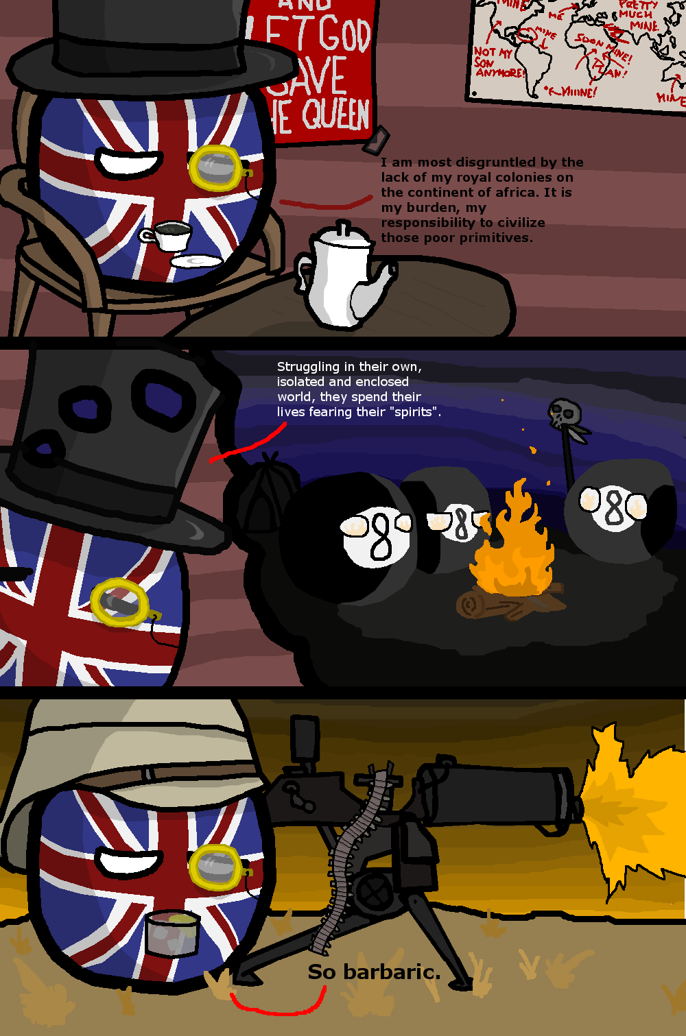 British colonial policy, Ep.1