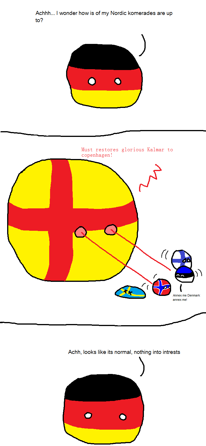 Germany checking out the Nords