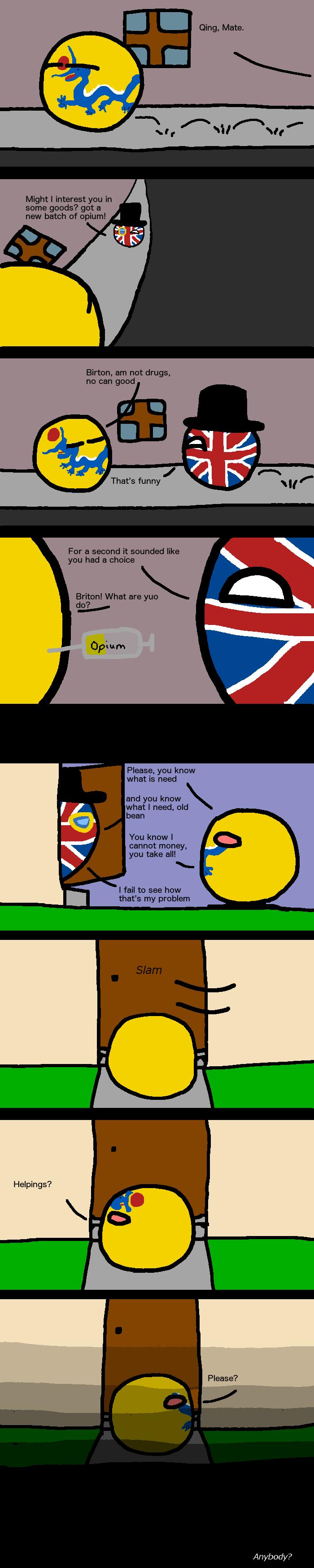Opium is Qing