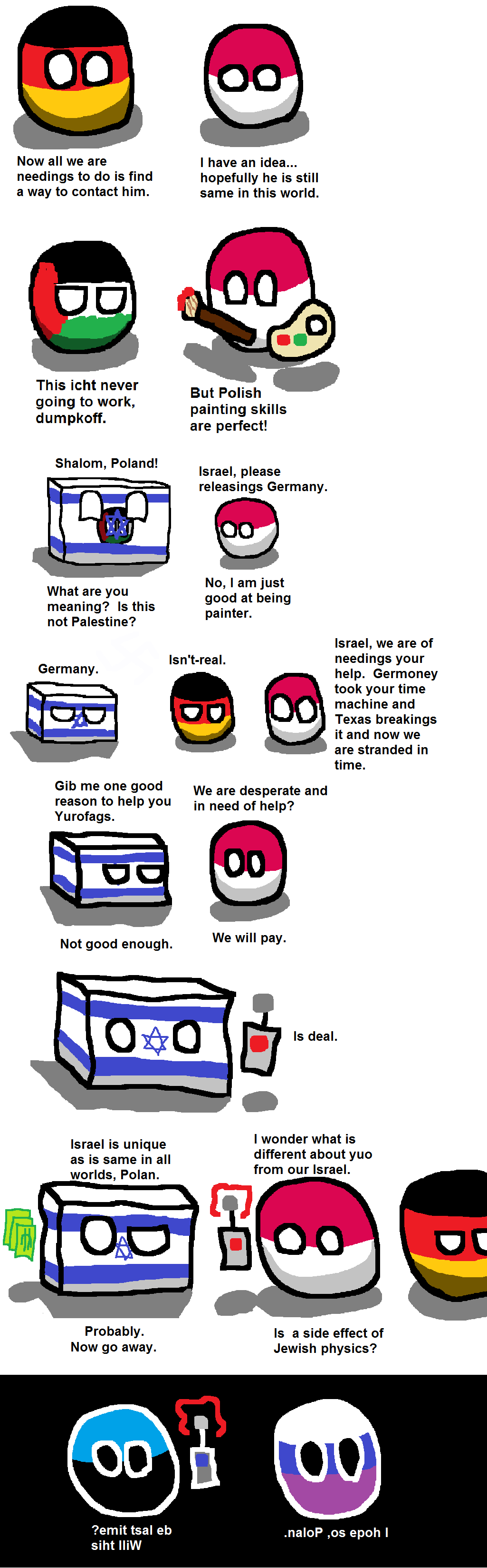 Polan and Germoney's Adventures in Time Part IV