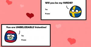 Polandball Valentines