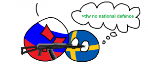 Sweden solves problems