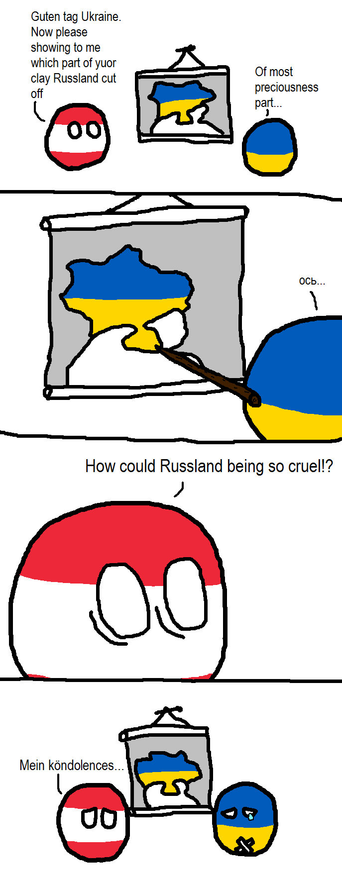Ukraine no longer feels like itself...