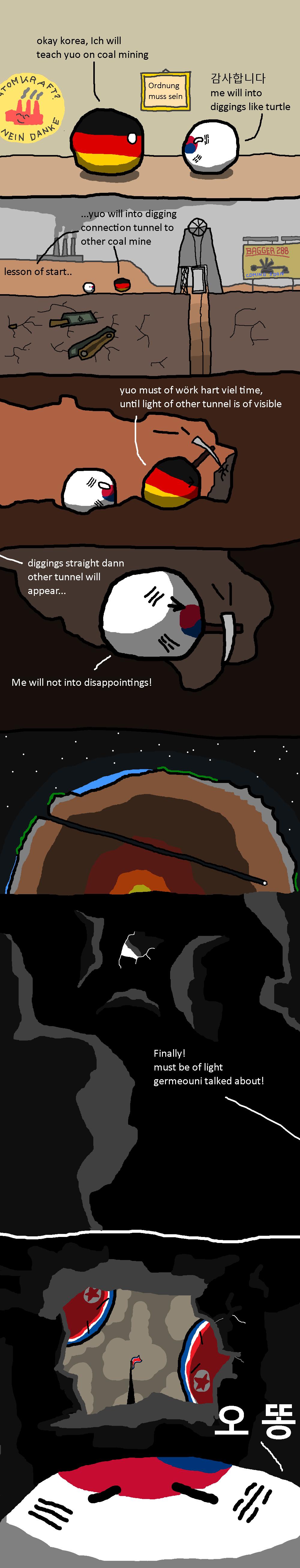 Coal mining lesson