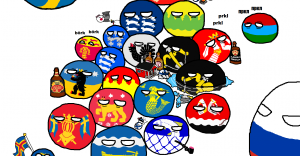 Polandball map of Finland