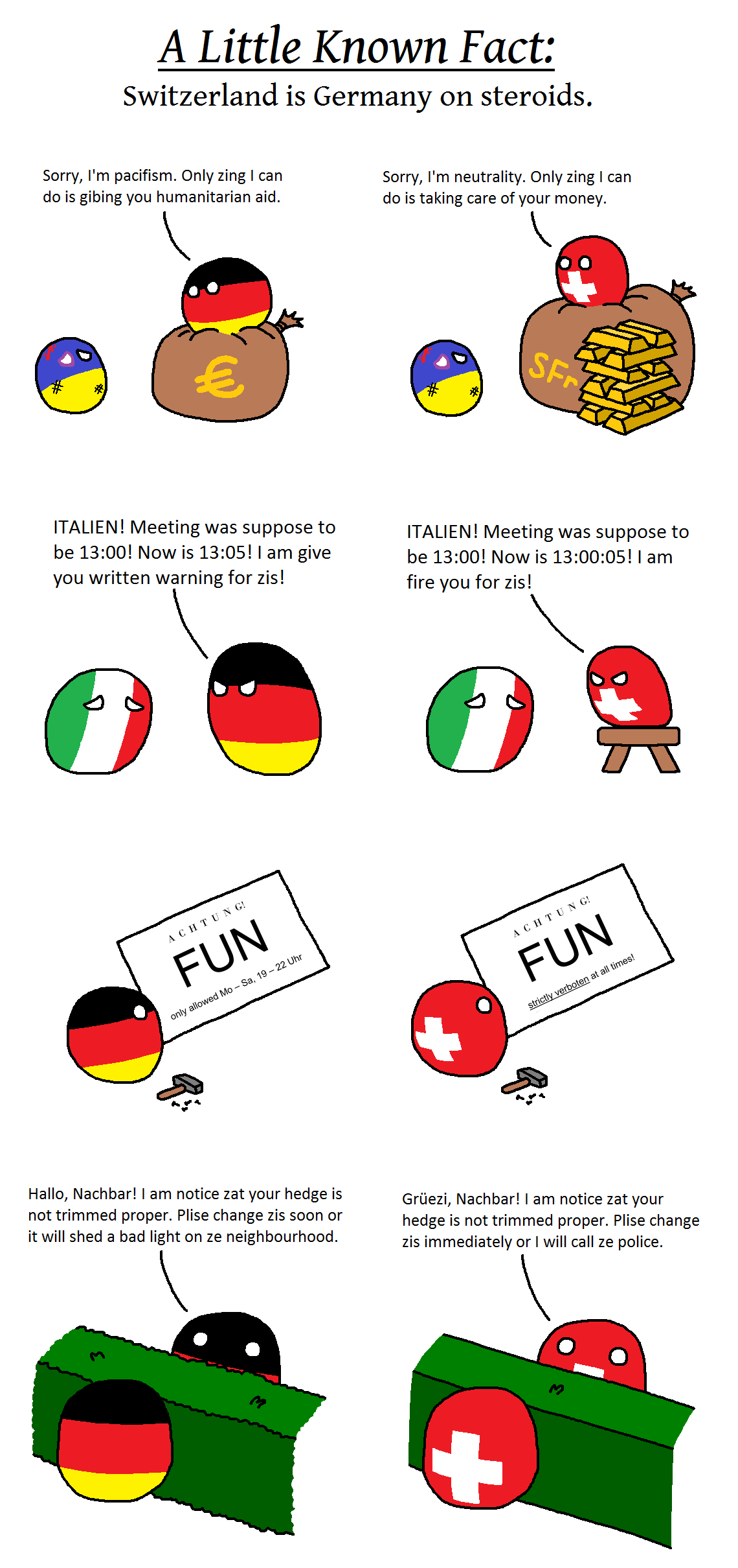 Germany on Steroids