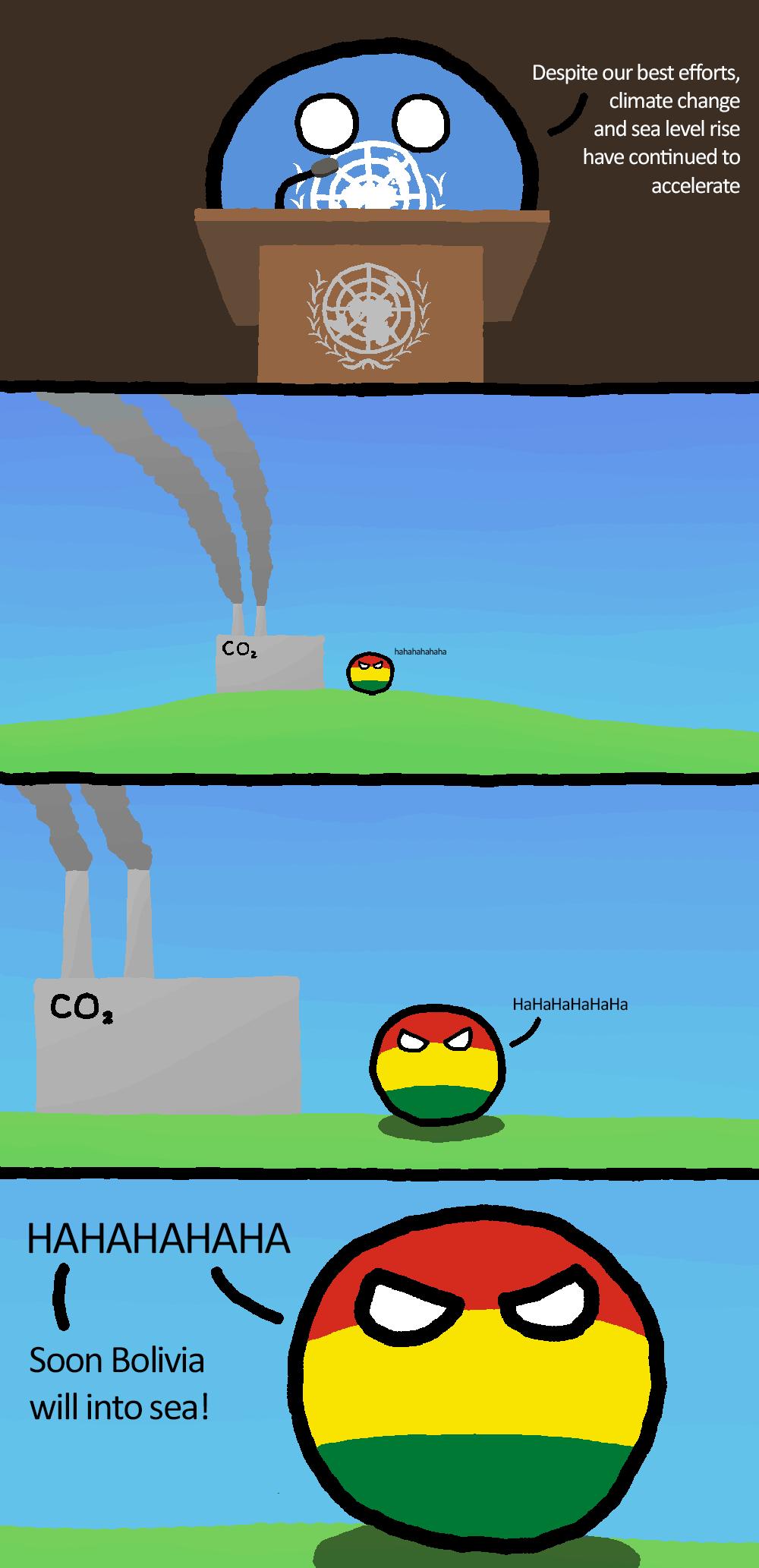 Bolivia can finally into sea